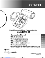 OMRON M10-IT Instruction Manual