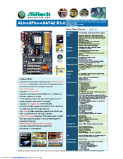 Asrock ALiveXFire-eSATA2 R3.0 Driver for Windows Download