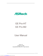 ASROCK PE PRO-HT DRIVERS FOR WINDOWS 7