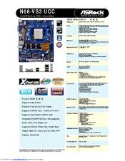 Asrock N68-VS3 UCC Windows 8