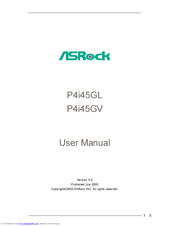 Driver for ASROCK P4i45GV R3.0