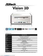 Download Drivers: Asrock Vision 3D Series
