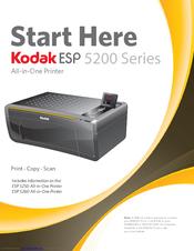 kodak esp 5200 manuals rh manualslib com Kodak Printers 5200 Series Kodak ESP 5200 Wireless