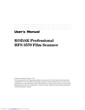 KODAK RFS 3570 DRIVER UPDATE