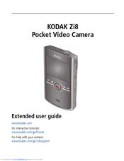 kodak zi8 extended user manual pdf download rh manualslib com Kodak Black Kodak Camcorder