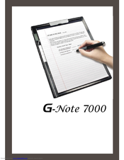 GENIUS GNOTE 7000 WINDOWS DRIVER