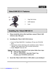 GENIUS VIDEOCAM GE111 WINDOWS 7 X64 TREIBER