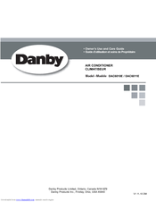 DANBY DAC6011E OWNER'S USE AND CARE MANUAL Pdf Download