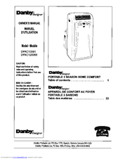 Danby Designer Dpac120068 Owner S Manual Pdf Download Manualslib