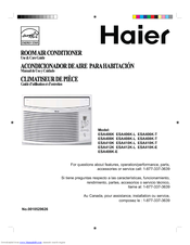 Haier ESA410K Manuals on