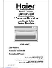 haier hwr05xc7 5 200 manuals rh manualslib com Haier Air Conditioner Blinking Red-Light Haier Esa3089 Owner Manual