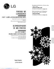 lg lp0910wnr user s manual installation instructions pdf download rh manualslib com LG LP0910WNR Owner's Manual lg lp0910wnr 9000 btu portable air conditioner manual