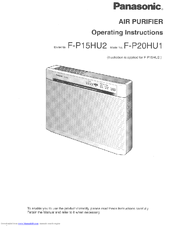 Panasonic FP15JU2 Manual