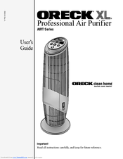 oreck airtb manuals rh manualslib com oreck xl professional air purifier manual youtube oreck xl professional air purifier air8sd manual