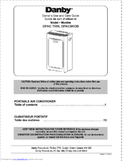 danby dpac8kdb owner s use and care manual pdf download rh manualslib com danby premiere r410a instruction manual danby r410a owners manual