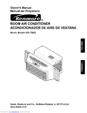 Kenmore 000 BTU Multi-Room Air Conditioner Owner's Manual