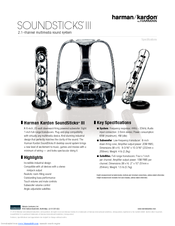 harman kardon soundsticks iii manuals rh manualslib com harman kardon soundsticks ii 2.1 review harman kardon soundsticks ii manual