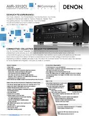 denon avr 3312ci manuals rh manualslib com Denon AVR 3312 vs 2312 Denon AVR- 2802