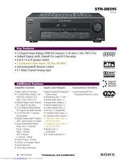 sony str de595 manuals rh manualslib com Sony STR De345 Specs Sony STR De595 Manual