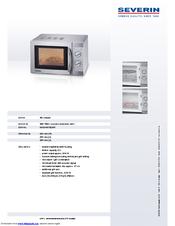 severin mikrowelle mit grill mw 7823 manuals. Black Bedroom Furniture Sets. Home Design Ideas