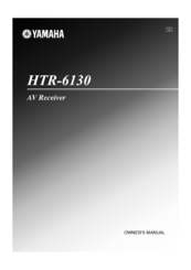 yamaha htr 6130 owner s manual pdf download rh manualslib com yamaha htr 6130 user manual download yamaha htr-6130 manual download