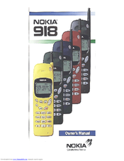 Nokia 918 Owner's Manual
