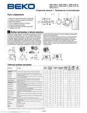 beko wmd 25060 r manuals rh manualslib com beko oven manual symbols beko oven manual qif21x