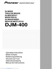 pioneer djm 400 cdj 400 package manuals rh manualslib com DJM-400 Mixer Pioneer DJM 300