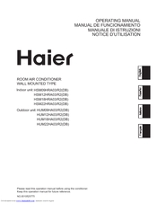 HAIER HSM09HRA03/R2 Operating Manual