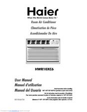 haier hwr10xc6 3 manuals rh manualslib com Haier Air Conditioner Blinking Red-Light Haier Instruction Manual