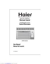 haier hwr12xc8 manuals rh manualslib com User Training Example User Guide