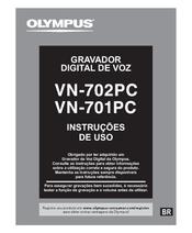 Olympus VN-702PC Instruções De Uso