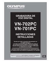 Olympus VN-702PC Manual