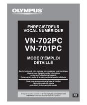 Olympus VN-702PC Manuel Du Propriétaire