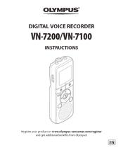 olympus digital voice recorder manual vn 722pc