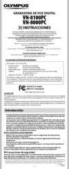 olympus vn 8000pc manuals rh manualslib com