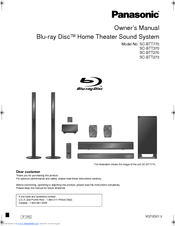 Panasonic SC-BTT770 Owner's Manual