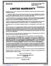Sony MZ G750 Manual