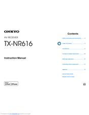 onkyo tx nr616 service manual