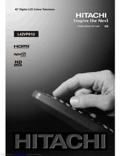hitachi l42vp01u manuals rh manualslib com Hitachi StarBoard Manual Hitachi StarBoard Manual