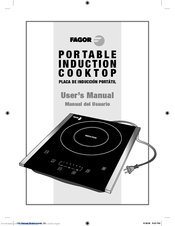 FAGOR Portable Induction Cooktop User Manual