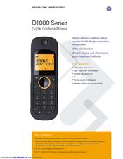 motorola d1010 series manuals rh manualslib com Alcatel Phones Manual Jabra Bluetooth Manual