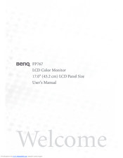 Benq fp767-12 drivers for windows 7.