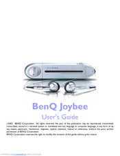 BENQ JOYBEE 180 DRIVERS FOR WINDOWS DOWNLOAD