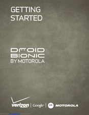 MOTOROLA DROID BIONIC by Getting Started Manual