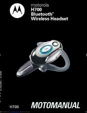 motorola h700 h700 manuals rh manualslib com Motorola Bluetooth Motorola H700 Pairing Mode