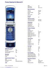 motorola krzr k1 manuals rh manualslib com Motorola V8 Motorola C115