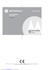 MOTOROLA ME5050 User Manual
