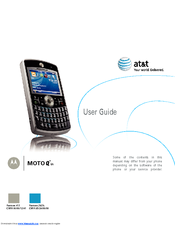 MOTOROLA MOTO Q 9H - ATT User Manual