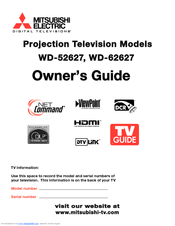Brother WD-52627 Owner's Manual